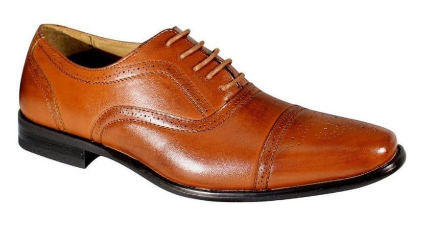 Delli Aldo Men's Leather Lining Oxford Dress Shoe Review