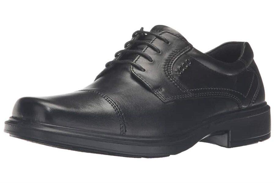 ECCO Men's Helsinki Cap-Toe Oxford Dress Shoes Review