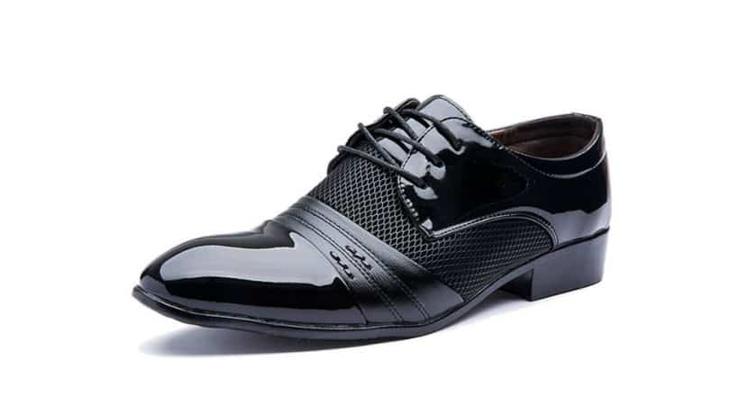 Blivener Men's Pointed Toe Pleather Dress Shoes Review