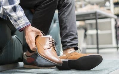 how dress shoes should fit in the heel