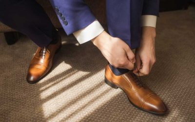 Viotti Stripped Satin Derby Oxford Dress Shoes for Men Review