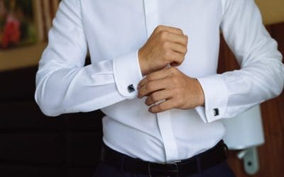 What to Wear Under a White Dress Shirt