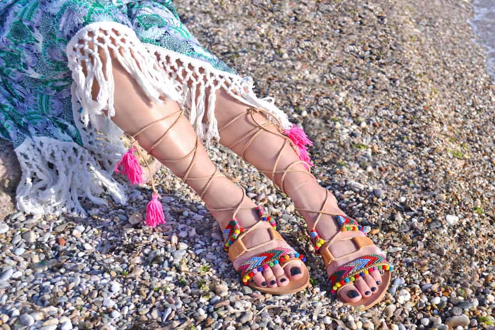 best colorful sandals for women