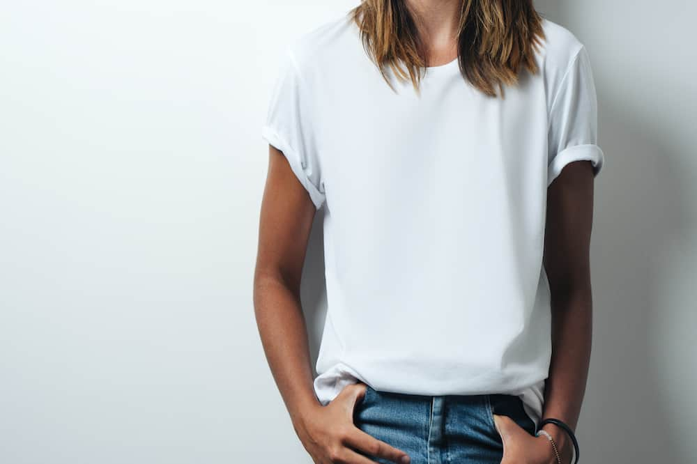 women's cotton polyester tee shirts