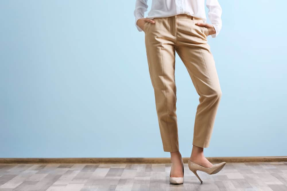 Wrinkle Free Pants Women's