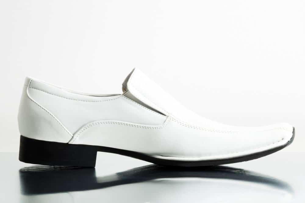 best men's white dress shoes