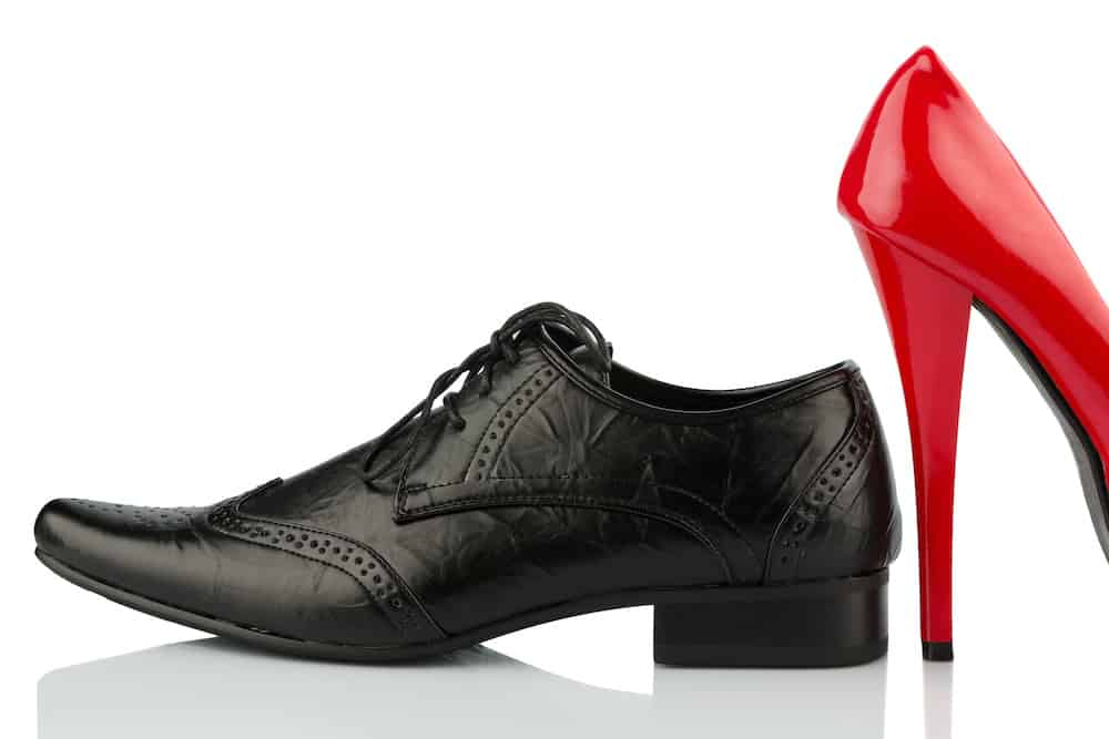 how to measure heel height on shoes